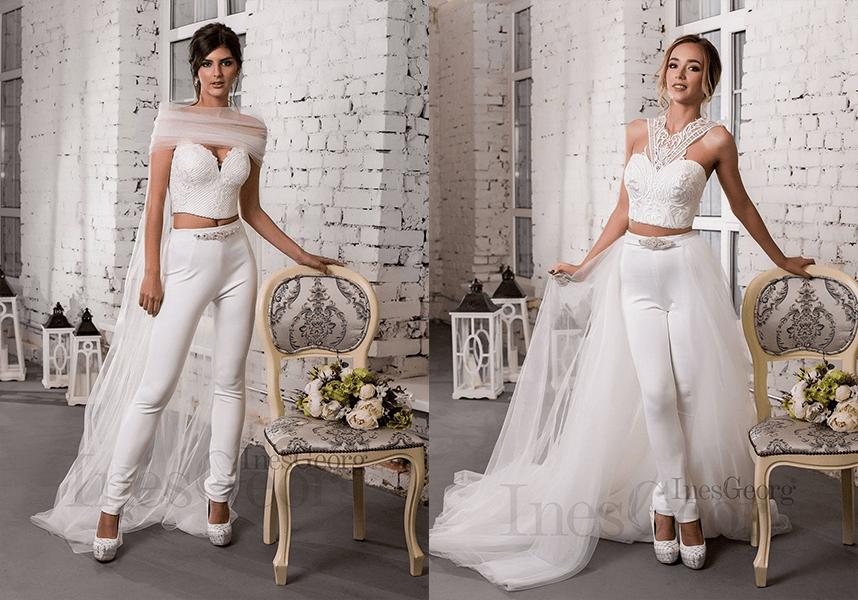 trendy šiat 2019 kostýmové svadobné šaty