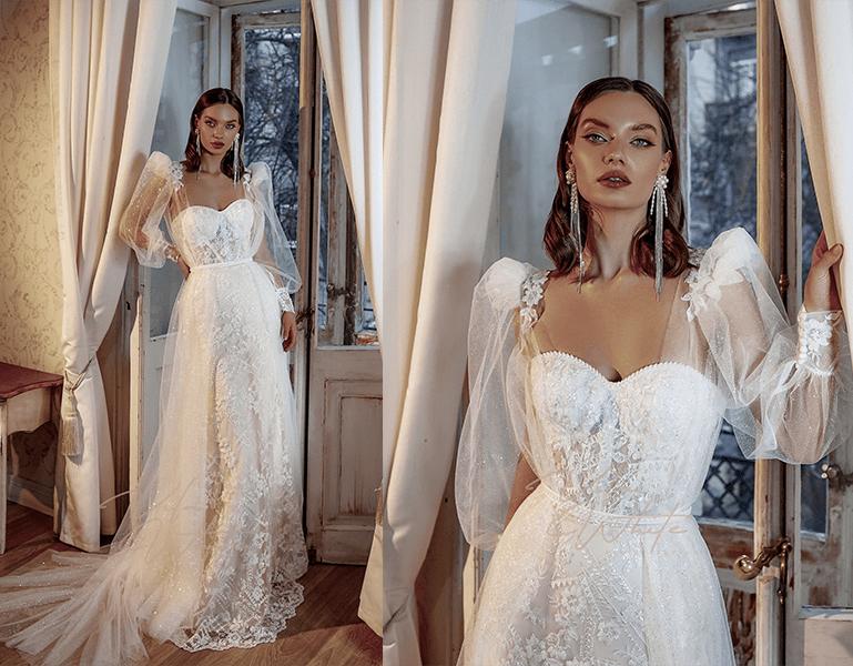 romantické rukávy - trendy šiat 2019