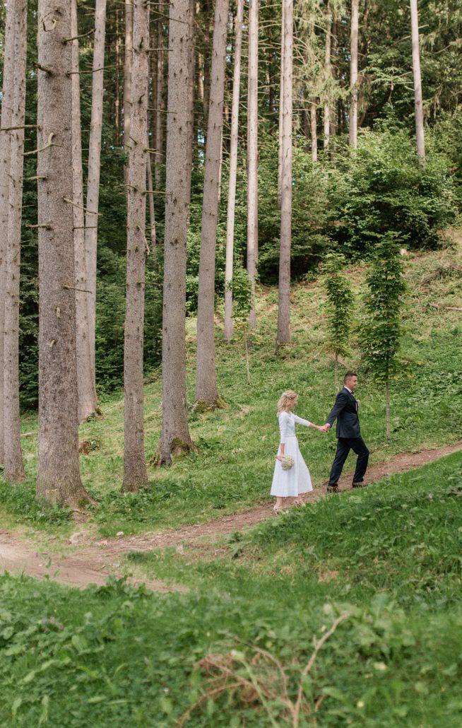 Najfotogeckejšie miesto podľa POKY media, Rajecká dolina, fotené v lese medzi stromami.