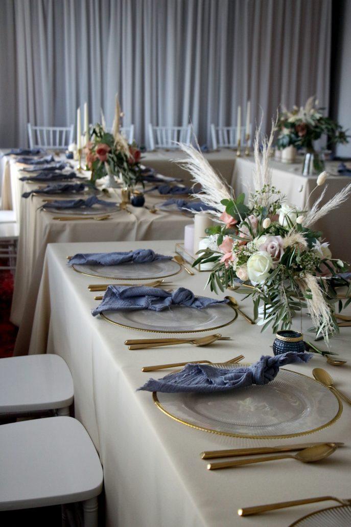 Svadobná výzdoba v Boho štýle od svadobnej agentúry Endless.