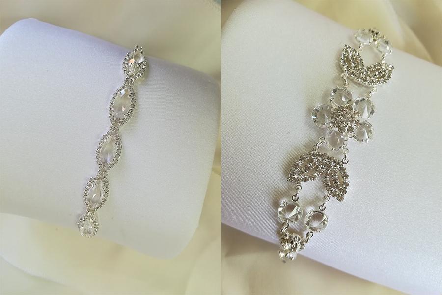 elegantné šperky zo svadobného salonu Vivien s kryštálmi