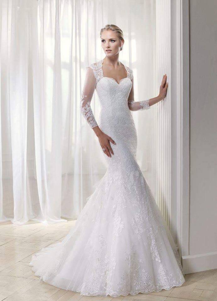 Svadobné šaty snehobielej farby od značky Divina Sposa.