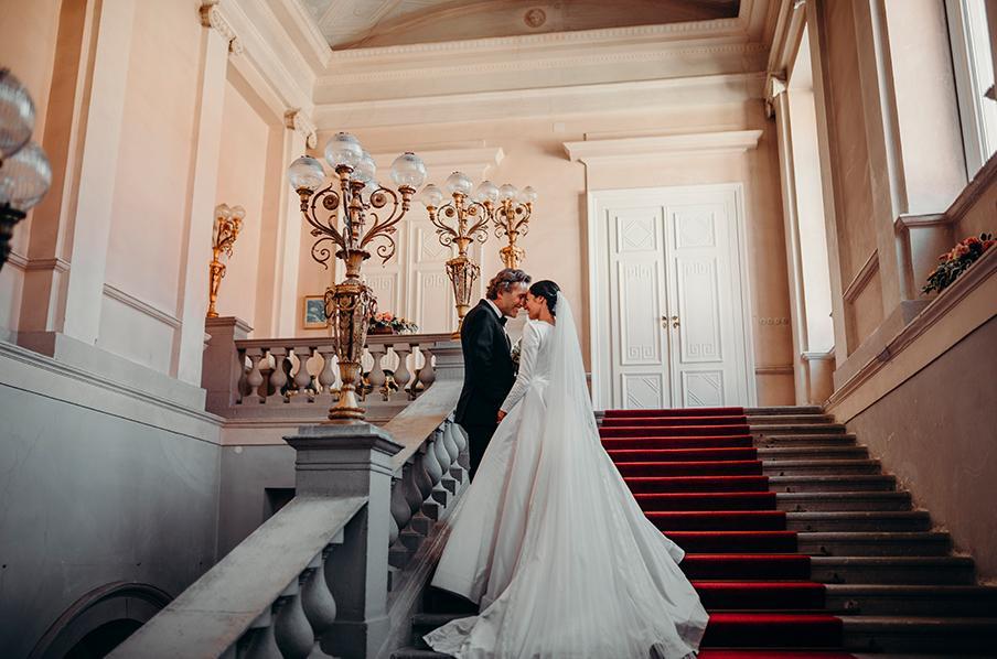 vysnívaná svadba v zámku v Topoľčiankach