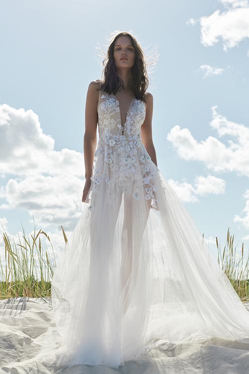 svadobný salón lulu a Anna - svadobné šaty s čipkou