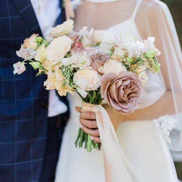 svadobná kytica - Nevädza