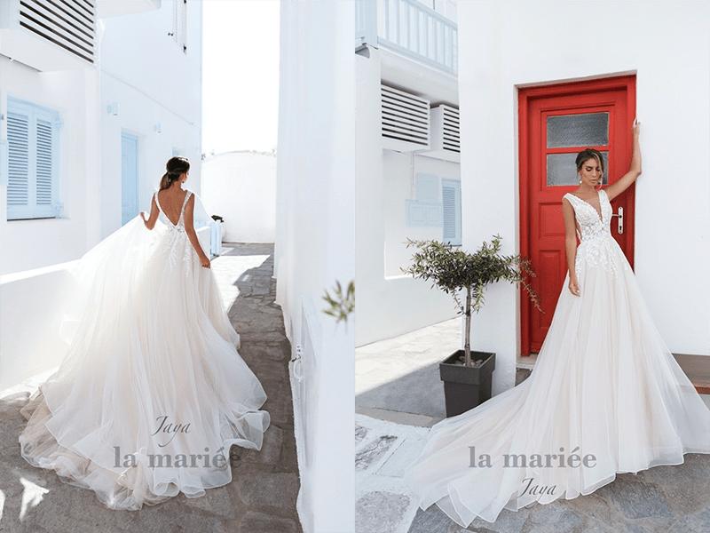 romantické svadobné šaty jaya