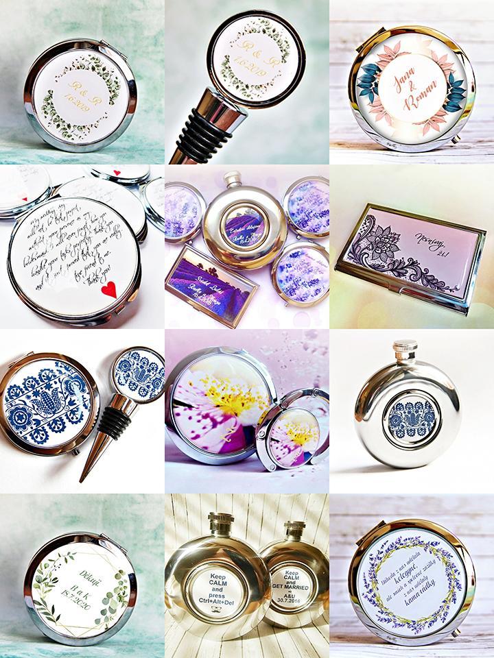darčeky pre hostí - personalizované darčekové predmety Helka