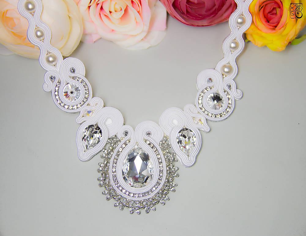 svadobné doplnky pre nevestu - náhrdelník