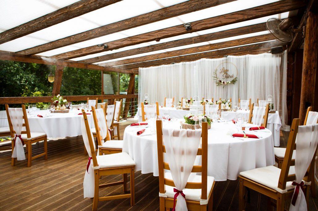 svadobná výzdoba od Kreatívna svadba - svadobná koordinátorka