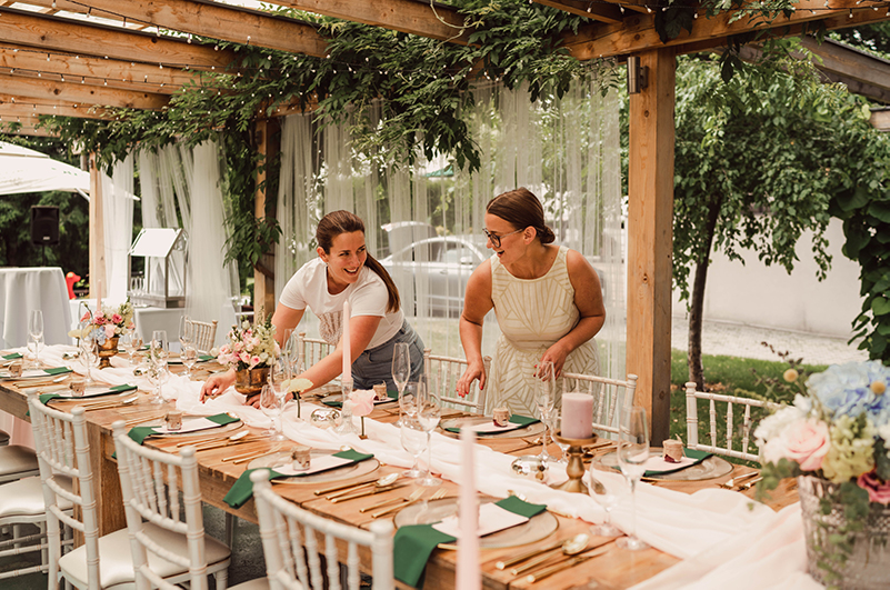 koordinácia svadby príbehom svadby